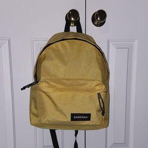 Eastpak Backpack 🎒 Mustard Yellow